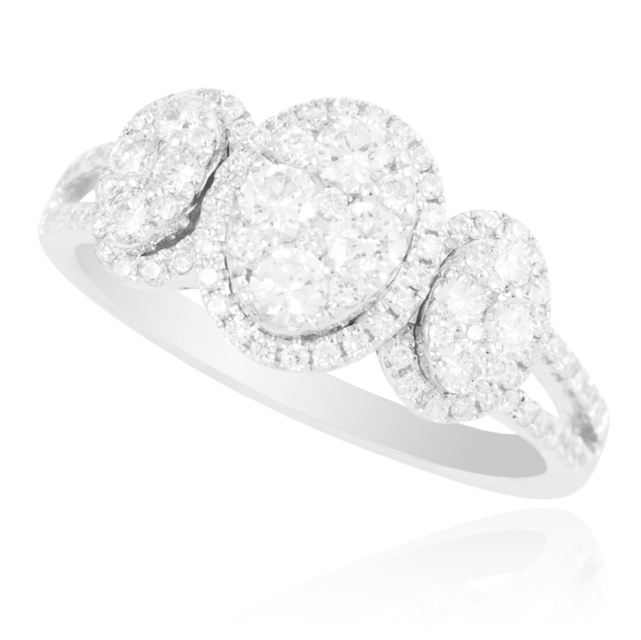 18k white gold 87ct promise ring shyne jewelers