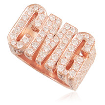 14K Rose Gold Custom Diamond CMG Ring