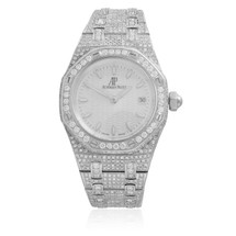 Audemars Piguet Royal Oak Stainless Steel 15ct Diamond Watch