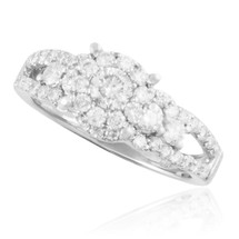 14K White Gold 1.22ct Diamond Engagement Ring