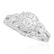 14K White Gold 1.31ct Diamond Engagement Ring