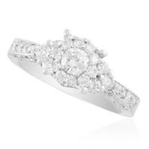 14K White Gold 1.20ct Diamond Engagement Ring