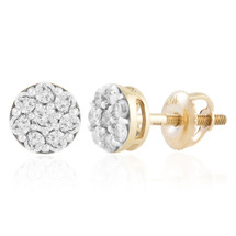 10k Yellow Gold .46ct Diamond Studs