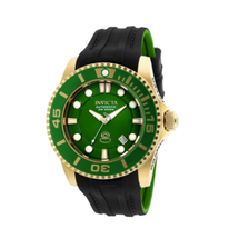 Invicta Men's Pro Diver Automatic 3 Hand Green Dial Watch 20202
