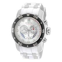 Invicta Men's Pro Diver Quartz Chronograph Silver Dial Watch 20290