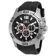 Invicta Men's Pro Diver Quartz Chronograph Black Dial Watch 20294