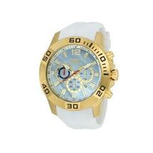 Invicta Men's Pro Diver Quartz Platinum Dial Watch 20296
