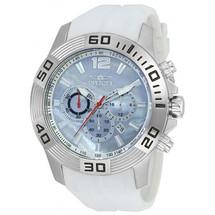Invicta Men's Pro Diver Quartz Chronograph Platinum Dial Watch 20297