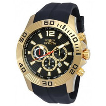 Invicta Men's Pro Diver Quartz Chronograph Black Dial Watch 20300