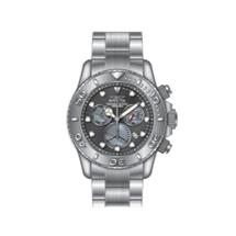 Invicta Men's Pro Diver Quartz Chronograph Platinum, Gunmetal Dial Watch 20344