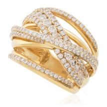 18K Yellow Gold 2.18ct Diamond Ring