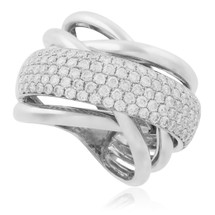 18K White Gold 2.20 ct Diamond Ring