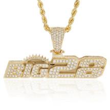 10k Yellow Gold Custom Big28 Pendant