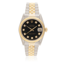 Rolex DateJust 18K Yellow Gold Automatic Women's Watch