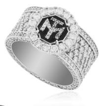 10K White Gold Custom Diamond Ring