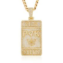 10k Yellow Gold Custom P4K Pendant