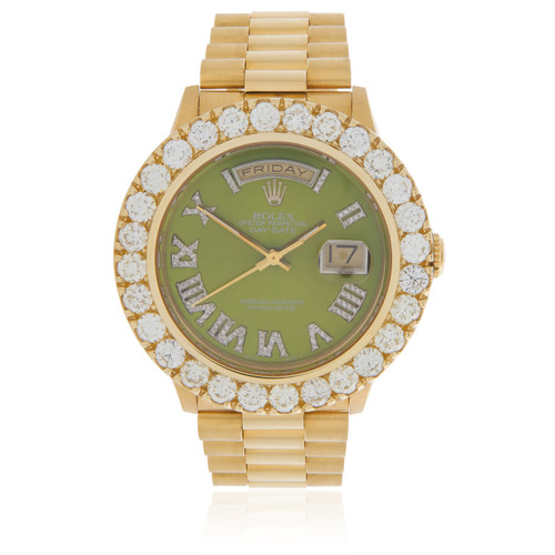 Rolex Day Date Green Gold