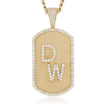 10k Yellow Gold Custom Dion Waiters Pendant