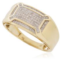 10K Yellow Gold .24ct Diamond Ring