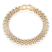 14k Two-Tone Jubilee Band Bracelet