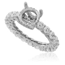 18K White Gold 2.65ct Diamond Engagement Setting