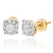 14k Yellow Gold .65ct Diamond Studs