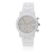 Gucci White Ceramic Watch