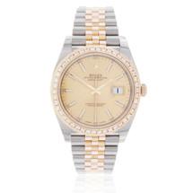Rolex DateJust 41 Automatic Men's Watch 2.5ct Diamond Bezel