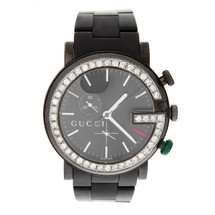 Gucci 101M G-Chrono Diamond Bezel Watch Front