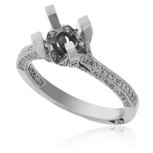 Tacori Platinum .30ct Engagement Ring Setting