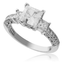 Tacori Platinum .80ct Engagement Ring Setting