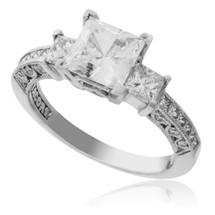 Tacori Platinum .80ct Engagement Ring Setting