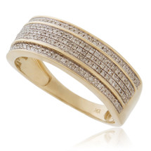 10k Yellow Gold .30ct Diamond Ring