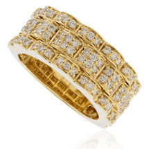 14k Yellow Gold 1.34ct Diamond Ring