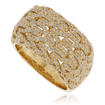14k Yellow Gold 2.05ct Diamond Ring