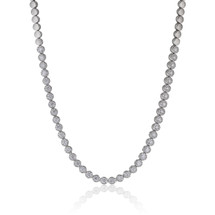 14k White Gold 7.10ct Diamond Necklace