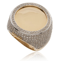 10k Yellow Gold 4.25ct Diamond Ring