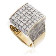 10k Yellow Gold 3.14ct Diamond Ring