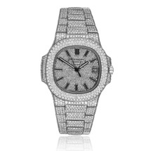 Patek Philippe Nautilus 5711/1A Stainless Steel 23.5ct Diamond Watch