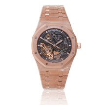 Audemars Piguet Royal Oak Skeleton 18k Rose Gold Watch