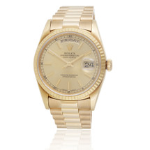 Rolex Presidential Day-Date 18k Yellow Gold Automatic Men's Watch