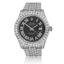 Rolex DateJust 36mm 14ct Diamond Automatic Men's Watch
