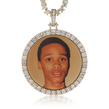 "14k Yellow Gold Custom Diamond ""Lil Snupe"" Pendant"
