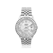 Rolex DateJust Stainless Steel with 4.5ct Diamond Watch