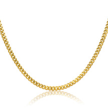 10k Miami Cuban Link Chain (2.5mm)