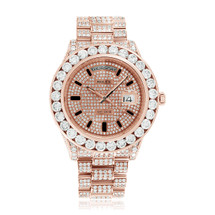 Rolex Day-Date II 18k Rose Gold 28.5ct Diamond Watch