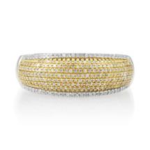 14k White Gold .55ct Diamond Ring
