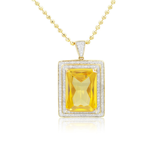 gold square necklace buy artisan saphire pendant sapphire