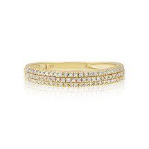 10k Yellow Gold .26ct Diamond Ring