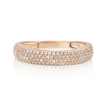 14k Rose Gold .26ct Diamond Ring
